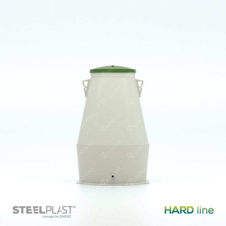 Vodoměrná šachta VS DK2 1200 HARD line - do sucha