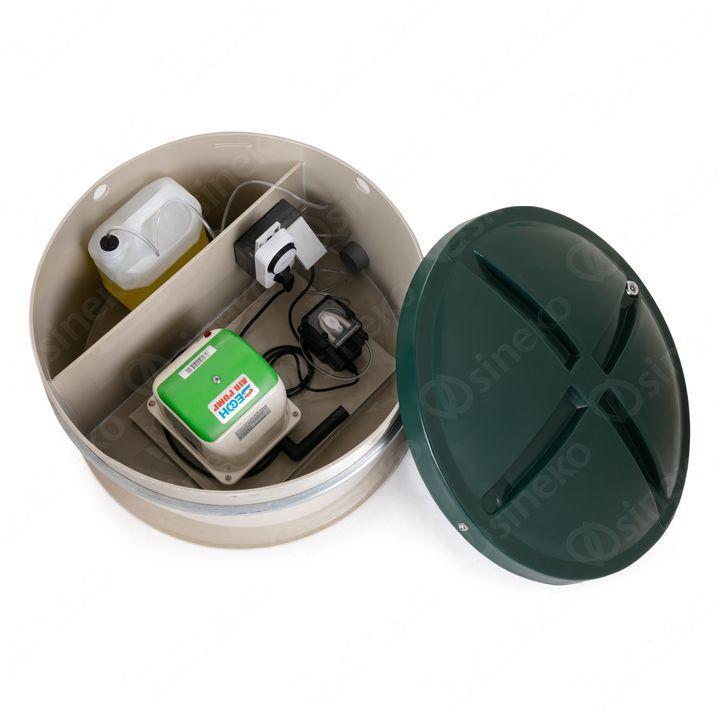 Schránka na dmychadlo a dávkovací zařízení BC 4-12